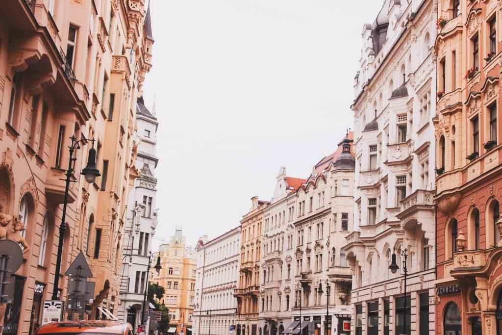 Beautiful Streets of Prague